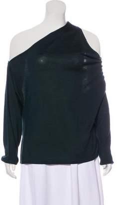 Dion Lee Wool One-Shoulder Sweater