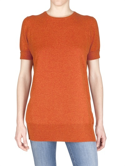 Annapurna - Short Sleeve Cashmere Knit Sweater