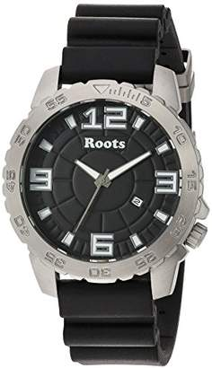 Roots Men's 'Core' Quartz Stainless Steel and Rubber Casual Watch