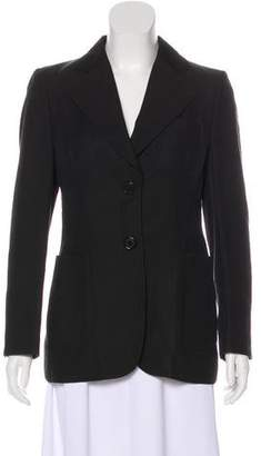 CNC Costume National Notch-Lapel Structured Blazer