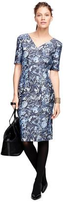 Silk and Wool Floral Print Dress $398 thestylecure.com