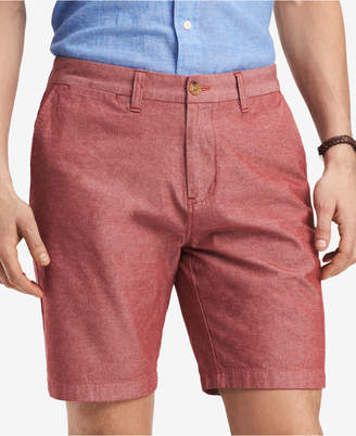 "Tommy Hilfiger Men's 9"" Chambray Chino Shorts, Created for Macy's"