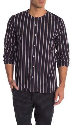 Saturdays NYC Pontus Striped Shirt
