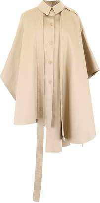 Loewe Trench Cape With Logo