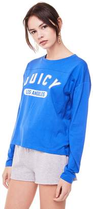 Juicy Couture Jxjc Varsity Logo Graphic Tee