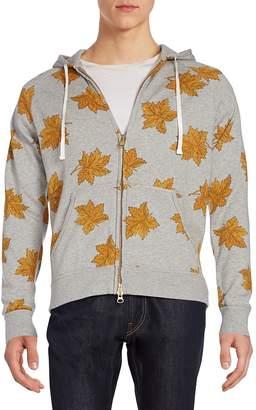 Gant Men's Leaf-Print Hoodie