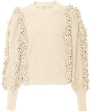 Ulla Johnson Hali Ruffled Cotton Pullover
