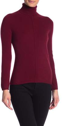 In Cashmere Long Sleeve Cashmere Turtleneck Sweater