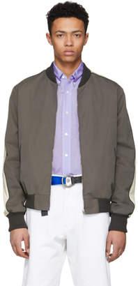 Stella McCartney Grey Island Conrad Bomber Jacket