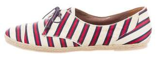 Tabitha Simmons Striped Espadrille Sneakers