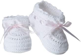 Jefferies Socks Baby-Girls Infant Hand Crochet Bootie