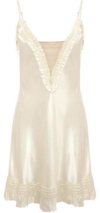Alexander McQueen Ruffle Camisole Dress