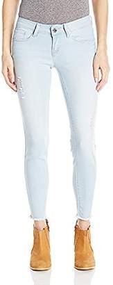 YMI Jeanswear Women's Love Anklet with Fray Hem
