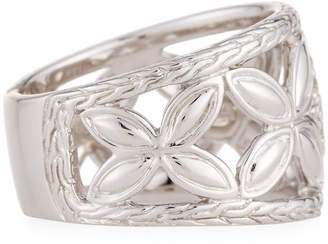 John Hardy Kawung Floral Diamond Ring, Size 7