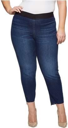 Karen Kane Plus Plus Size Step Hem Jeggings Women's Casual Pants