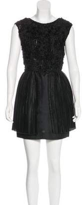 3.1 Phillip Lim Embroidered Mini Dress