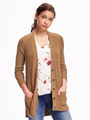Heavy-Stitch Boyfriend Cardi for Women $34.94 thestylecure.com