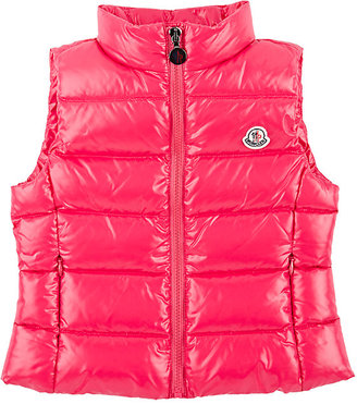 Moncler Down-Quilted Ghany Vest $310 thestylecure.com