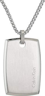 Calvin Klein Men's Straight Short Pendant Necklace