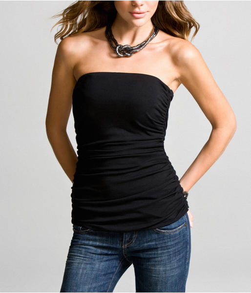 Luxe Stretch Ruched Tube Top