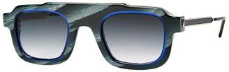 Thierry Lasry rhude x robbery black and blue sunglasses