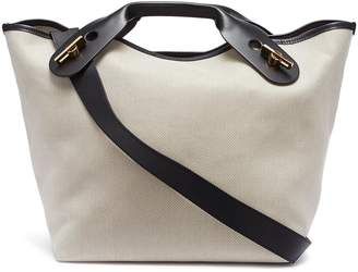 Sophie Hulme 'Bolt' large canvas shoulder bag
