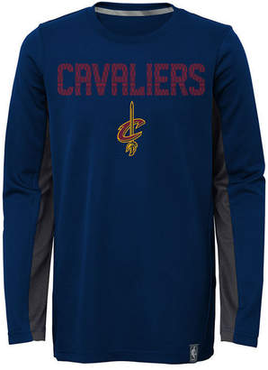 Outerstuff Cleveland Cavaliers Assist Shooter Long Sleeve T-Shirt, Little Boys (4-7)