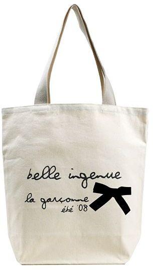 Belle Ingenue Canvas Tote Bag