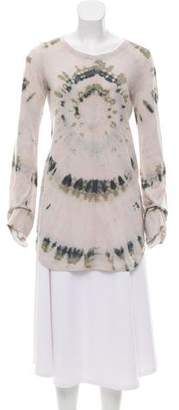 Raquel Allegra Tie-Dye Long Sleeve Tunic w/ Tags