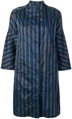Aspesi striped navy coat