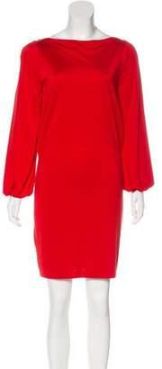 Ralph Lauren Black Label Silk Mini Dress
