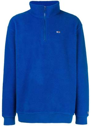 Tommy Jeans mock neck long sleeve pullover