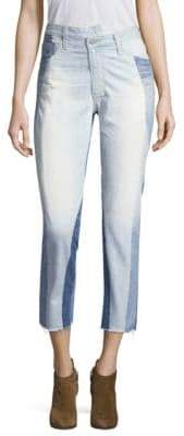 AG Jeans Isabelle Hi-Rise Straight Crop Jeans