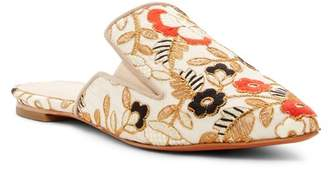 Marc Fisher Shiloh Embroidered Flat Mule