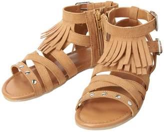 Crazy 8 Crazy8 Fringe Gladiator Sandals