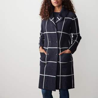 Mark And Graham Wool Knit Coat