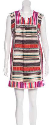 Calypso Patterned Mini Dress