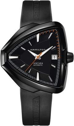 Hamilton Ventura Elvis80 Automatic Silicone Strap Watch, 42.5mm x 44.5mm