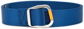 Tibi carabiner buckle belt
