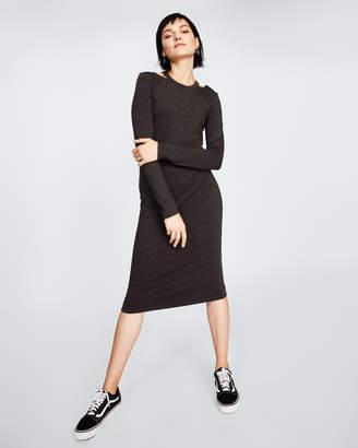 Nicole Miller Long Sleeve Riley Dress