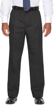 Croft & Barrow Men's Classic-Fit Easy-Care Stretch Pleated Khaki Pants
