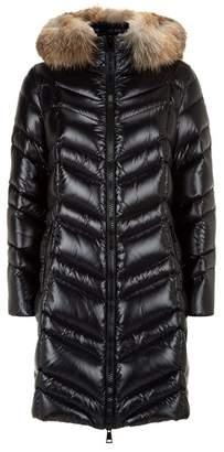 115399e11793 Moncler Hooded Women Fur Coat - ShopStyle UK