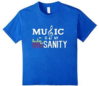 Music Is My Sanity Musical T-Shirt Men Women Kids Music Fans