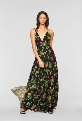 Monroe MillyMilly Floral Print Gown