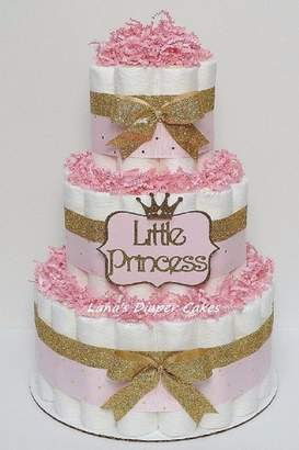 Vika's Creations Princess Diaper Cake