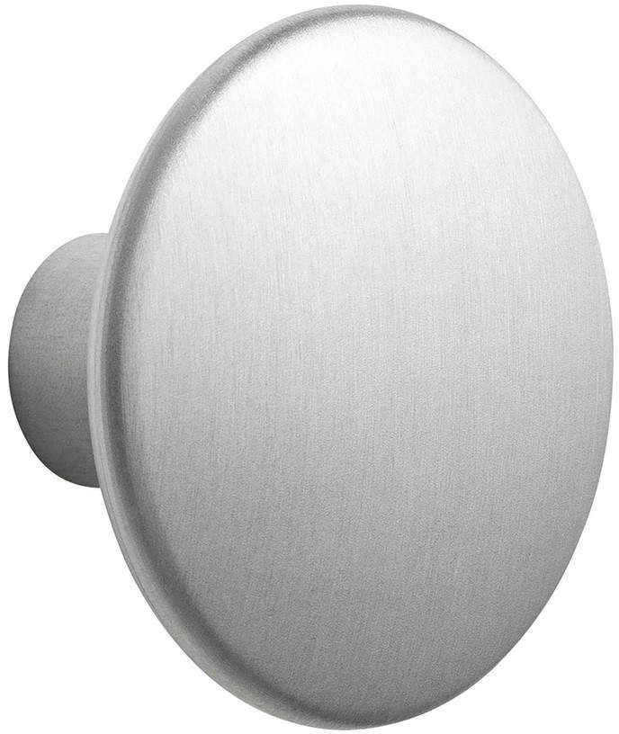 Muuto - Wandhaken ́ ́The Dots Metal ́ ́ single medium, Aluminium