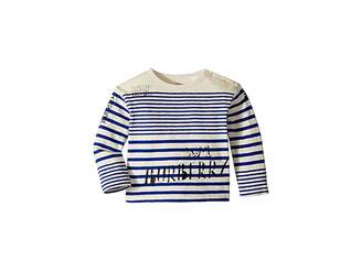 Burberry SW1 Stripe ACHAD Top (Infant/Toddler)