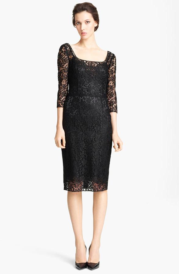 Dolce&Gabbana Lace Pencil Dress