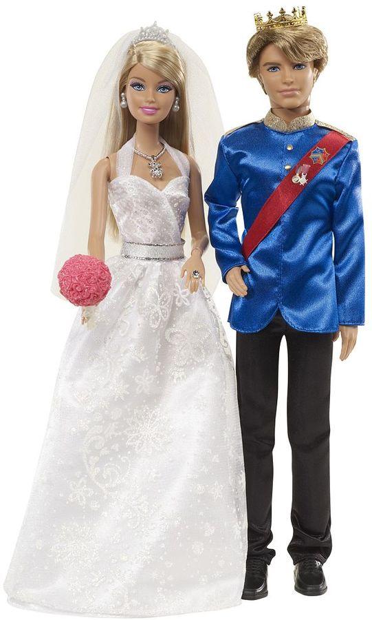 Mattel Barbie Fairytale Wedding Doll Set