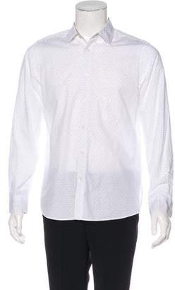 Michael Kors Dotted Woven Casual Shirt